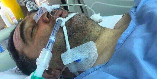 وضعیت نگرانکننده مداح جانباز در بیمارستان