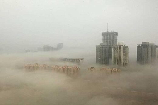 فیلم | وقتی مِه آژیرهای خطر را در چین به صدا درآورد