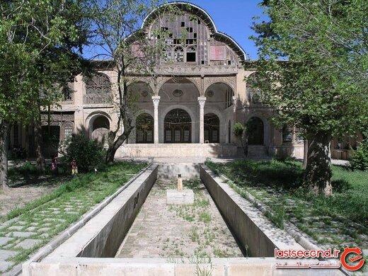 مشیر دیوان، عمارتی با معماری زیبا در سنندج!