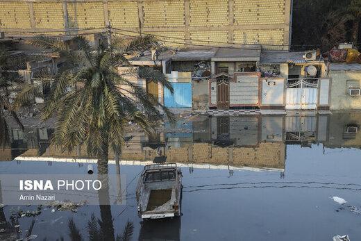 کوتعبدالله، از خانهسازی روی تالاب تا فاضلابهای خیابانی