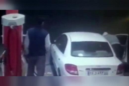 فیلم | عاقبت بنزین دزدی در اندیمشک!