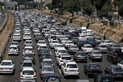 """ترافیک پرحجم در دو """"محور کرج–چالوس"""" و """"قزوین-کرج"""""""