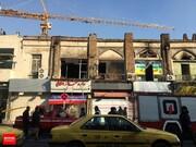 آتشسوزی بیخ گوش پلاسکو/آتشنشانی: شانس آوردیم صبح زود اتفاق افتاد