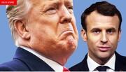 ترامپ مکرون را «کوتوله» و «موی دماغ» خطاب کرد