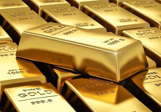 قیمت طلا به خود تکان داد