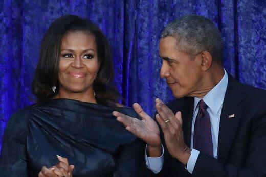 میشل و باراک اوباما، نجار شدند/عکس