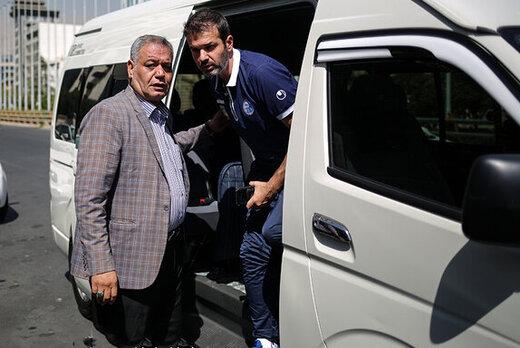 استراماچونی در آستانه بازگشت به ایران