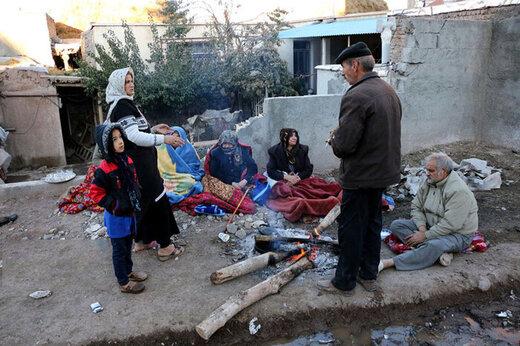 فیلم | زندگی سخت و دردناک زلزلهزدگان آذربایجان در سرما و برف