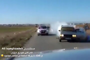 فیلم | لحظه انفجار اسلحه همراهان عروس و داماد در یک عروسی ایرانی!