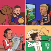ستارههای فوتبال را در تعطیلات ببینید!