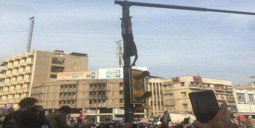 نفوذیهای اعتراضات مردمی در بغداد یک نوجوان را به طرز فجیعی کشتند