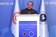 لاریجانی: تحریم ایران و روسیه و جنگ تعرفه با چین، نشان میدهد آمریکا تحمل جایگاه آسیا را ندارد