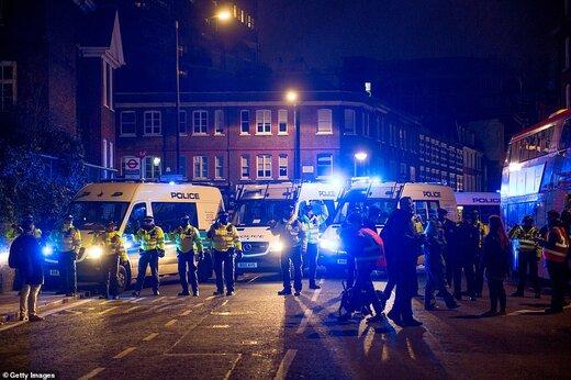 تظاهرات گسترده در انگلیس