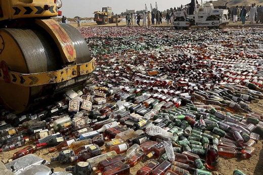 ببینید | عملیات پلیسی جالب برای کشف باند تولید و توزیع مشروبات الکلی تقلبی در اصفهان