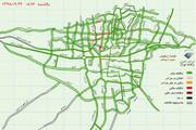 ببینید | وضعیت ترافیکی شهر تهران در روز تعطیلی مدارس