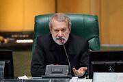 ببینید | لاریجانی به محمود صادقی: کسی نباید شما را برای ثبت نام نمایندگی تحقیر کند