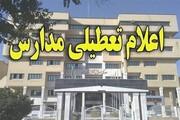 کل مدارس استان قزوین به خاطر آلودگی تعطیل شد
