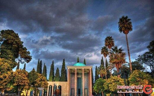 آرامگاه سعدی، دومین الماس درخشان شیراز!