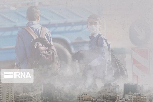 تداوم آلودگی هوای تهران طی امروز