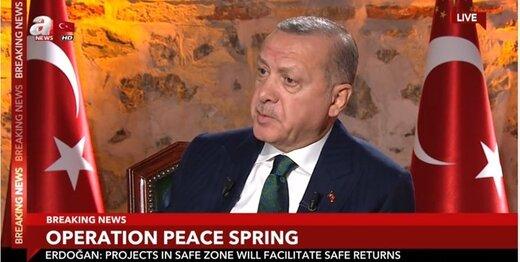 اردوغان از اقدام تازه ترکیه در صورت تحریمهای آمریکا خبر داد