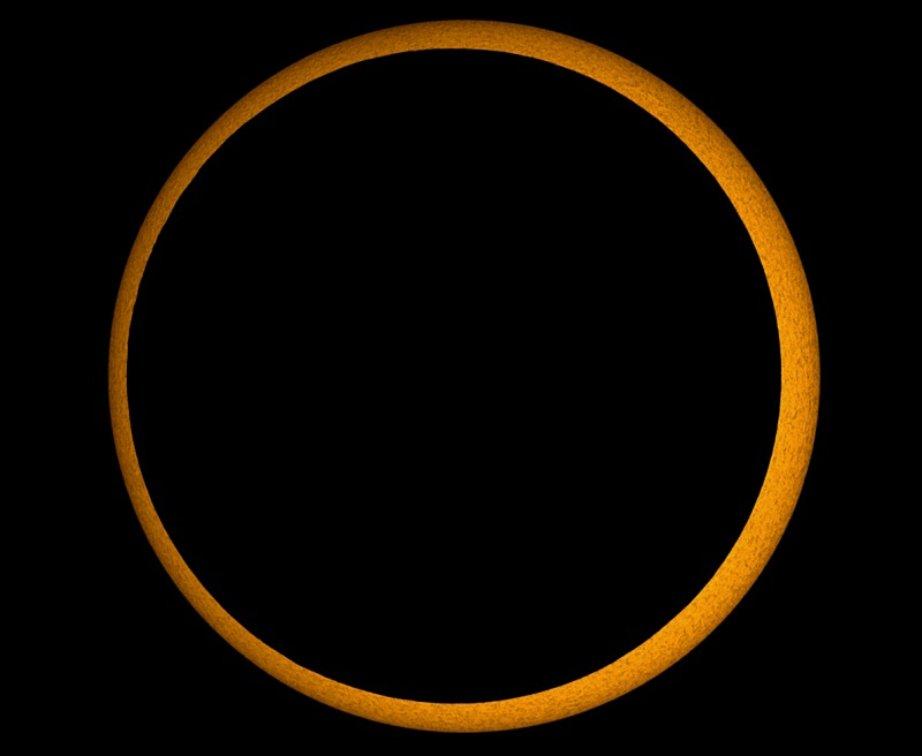 خورشید گرفتگی حلقوی