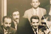 عکس زیرخاکی هوشنگ ابتهاج از شاعران خوش تیپ دهه ۳۰ و ۴۰