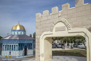 افتتاح بزرگترین نماد فلسطین در تونس / عکس