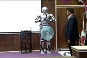فیلم | از ربات انسان نما توسط جوانان ایرانی رونمایی شد