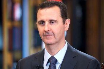بشار اسد به رهبر انقلاب تسلیت گفت