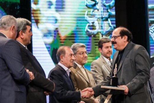 فریبرز ناطقی الهی، برنده جایزه پژوهش و نوآوری در مدیریت شهری