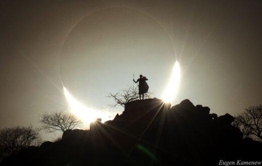 راهنمای رصد خورشید گرفتگی ۵ دی ۱۳۹۸
