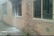 بخاری نفتی یک دبستان منفجر شد و کلاس را ویران کرد