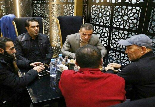 جلسه انصاریفرد با کالدرون و پیروانی درباره نقل و انتقالات پرسپولیس