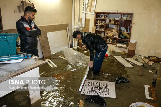 امداد رسانی به 420 خانوار آسیب دیده از بارندگی خوزستان