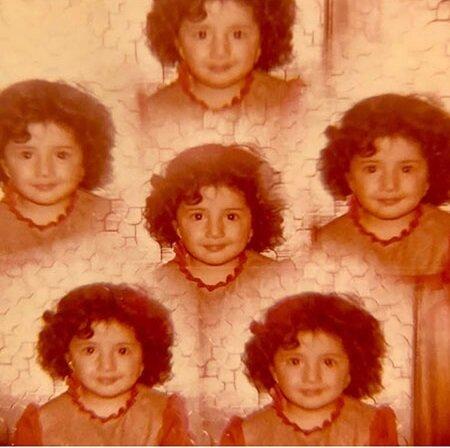 عکس ۴ سالگی شبنم قلیخانی