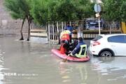 جنگ آتش نشانان با آتش و آب / امداد رسانی با مشکل مواجه شده است