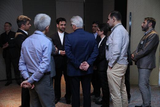 دیدار صمیمی دکتر روحانی با ایرانیان مقیم مالزی
