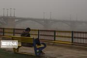 مه غلیظ صبحگاهی پدیده غالب در خوزستان است