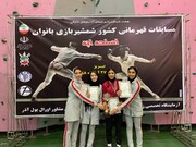 درخشش بانوان شمشیرباز آذربایجانغربی در مسابقات قهرمانی کشور