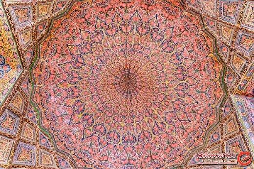 مسجد صورتی، خیره کننده ترین مسجد ایران از دید یک وب سایت خارجی!