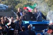 ببینید | جدیدترین سفر استانی احمدی نژاد و حاضرین در سخنرانیاش در روستای مزداکتی
