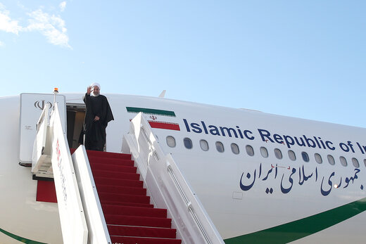 روحانی کوالالامپور را به مقصد توکیو ترک کرد