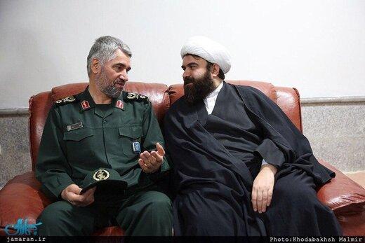 پست اینستاگرامی نوه امام برای یک سردار سپاه +عکس