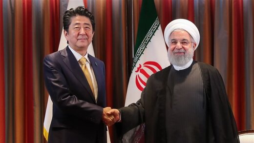Pres. Rouhani, Japanese PM confer on regional, int'l issues
