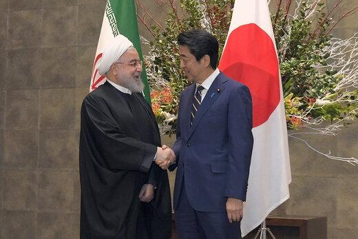 توئیت روحانی بعد از دیدار با آبه شینزو
