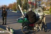 تصاویر | روزگار کارگران فصلی «مشهد» در آغاز زمستان