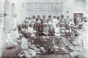 عکس | شب یلدا در زمان قاجار