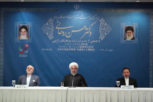 Rouhani: Iran, Japan should ban any third countries damage bilateral ties