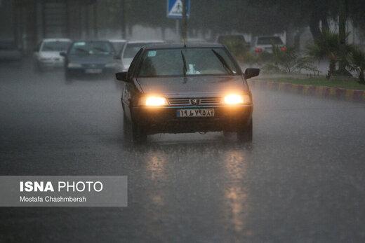 هوای ایران از چهارشنبه بارانی است