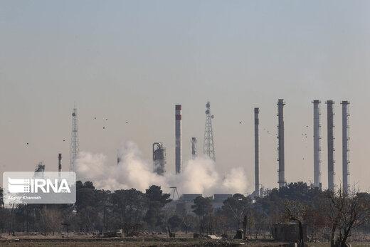 پایش میدانی آلودگی هوا در جنوب تهران